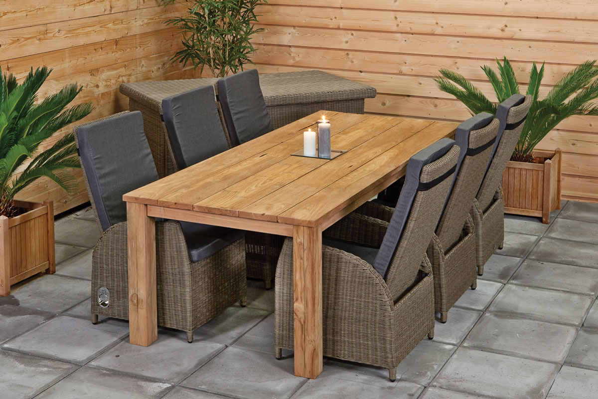 How to pick the garden table and chairs set?