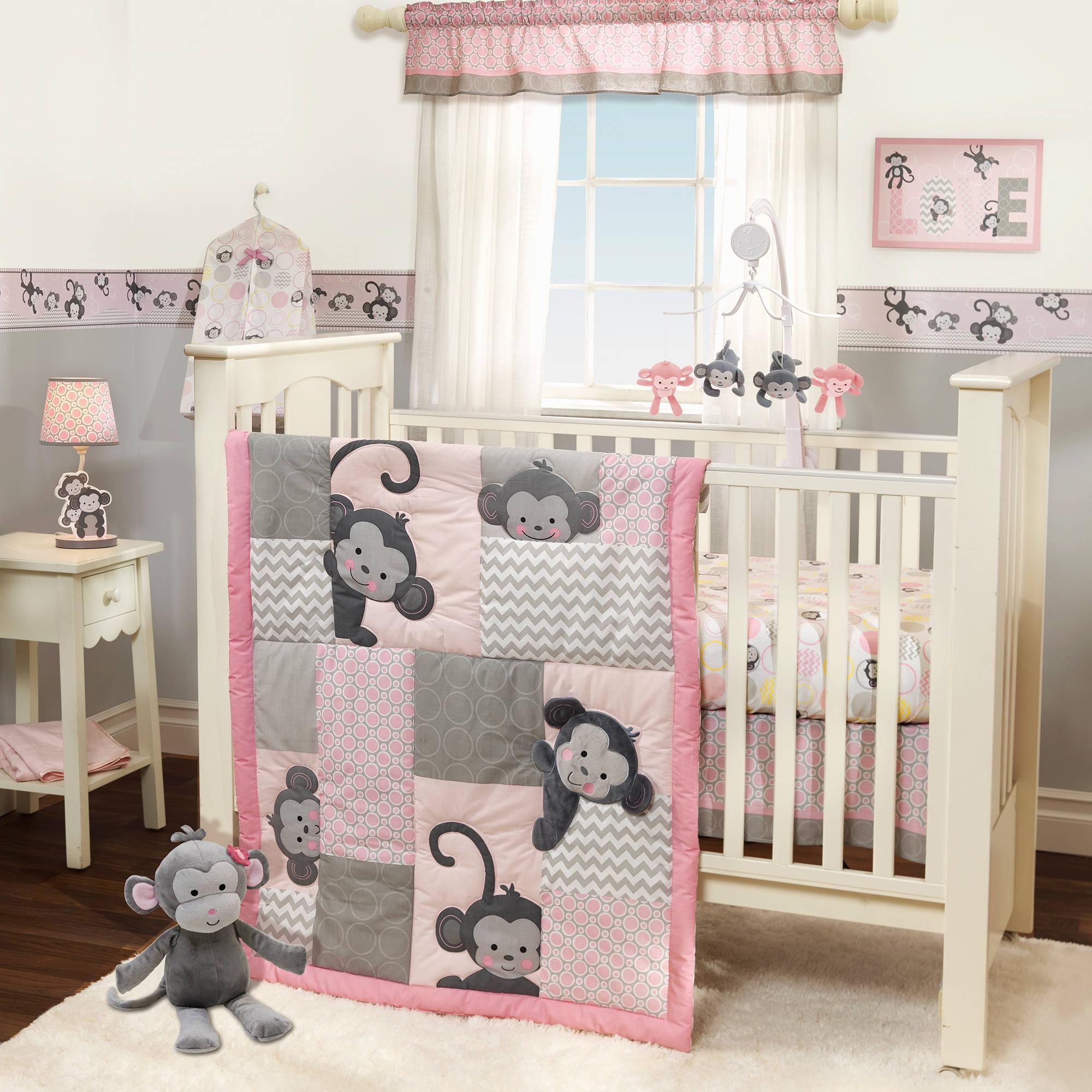 girl crib bedding disney pooh together forever 4-piece crib bedding set - walmart.com COMRQDQ