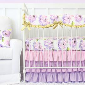 girl crib bedding floral girls crib bedding AXFAODR