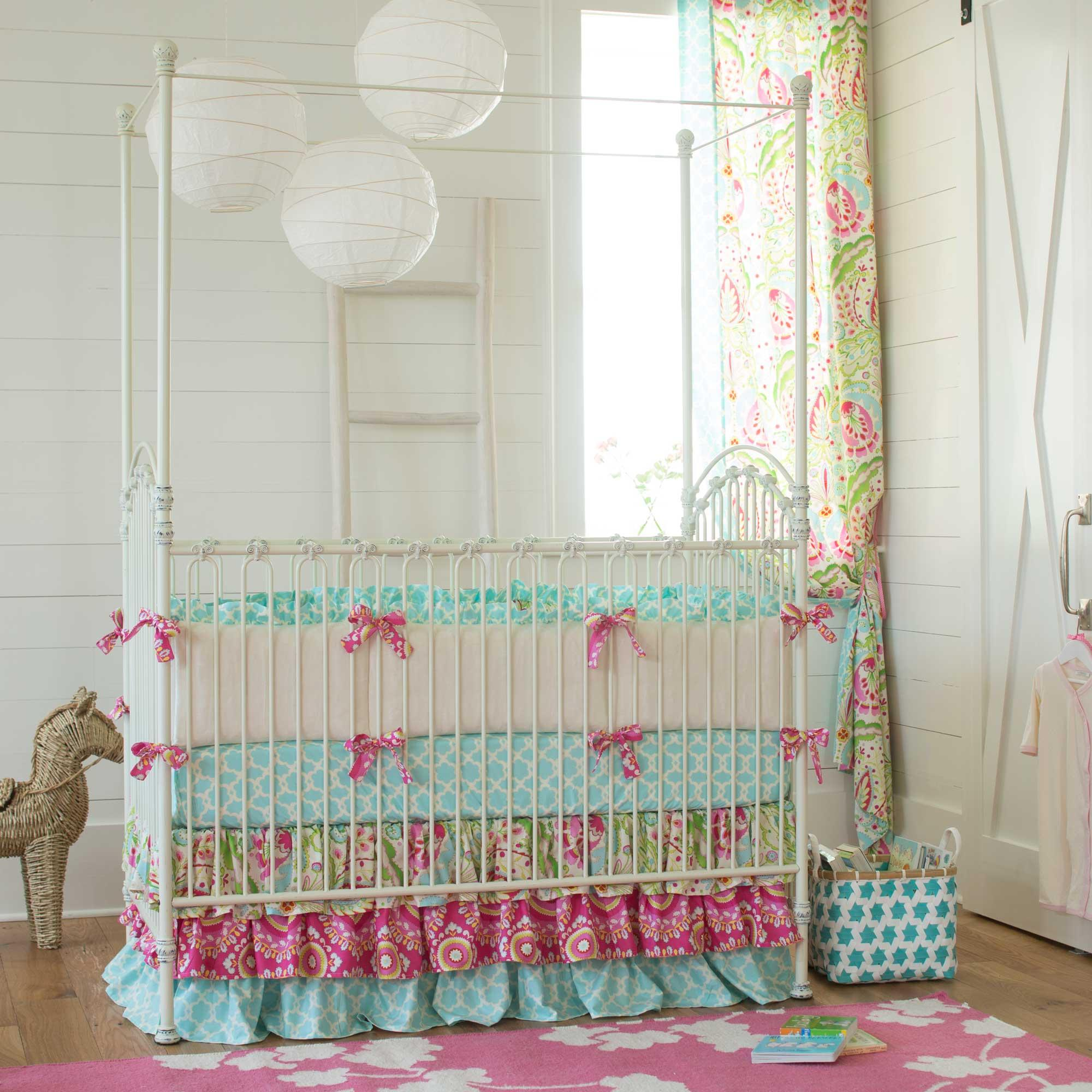 Girl crib bedding sets for your baby girl