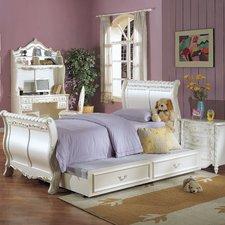 girls bedroom sets sleigh customizable bedroom set ZQMOFXA