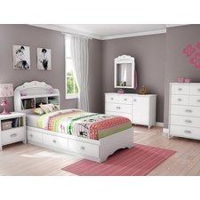 girls bedroom sets tiara twin platform customizable bedroom set IZCGIUM