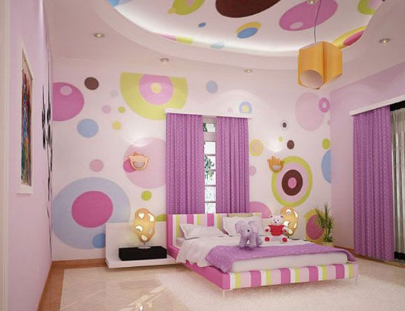 girls room decor fete31 colorful girls rooms design u0026 decorating ideas (44 pictures) YEVGUSX