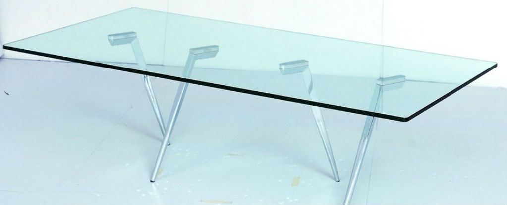 Glass table 72u2033 glass table top FLYXYWJ