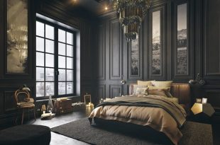 gorgeous dark bedroom designs with minimalist and playful approach themes  decor to IGLUKGC