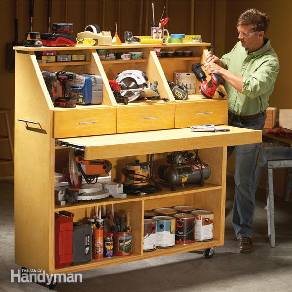 Keep your tools safe and secured in the tool storage box