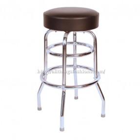 grade stools commercial grade black restaurant swivel bar stool - made in ROPCIKT