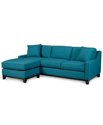 gray sectional sofa keegan fabric 2-piece sectional sofa YAFCIHP