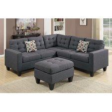 gray sectional sofa mccormick sectional AHDMYNA