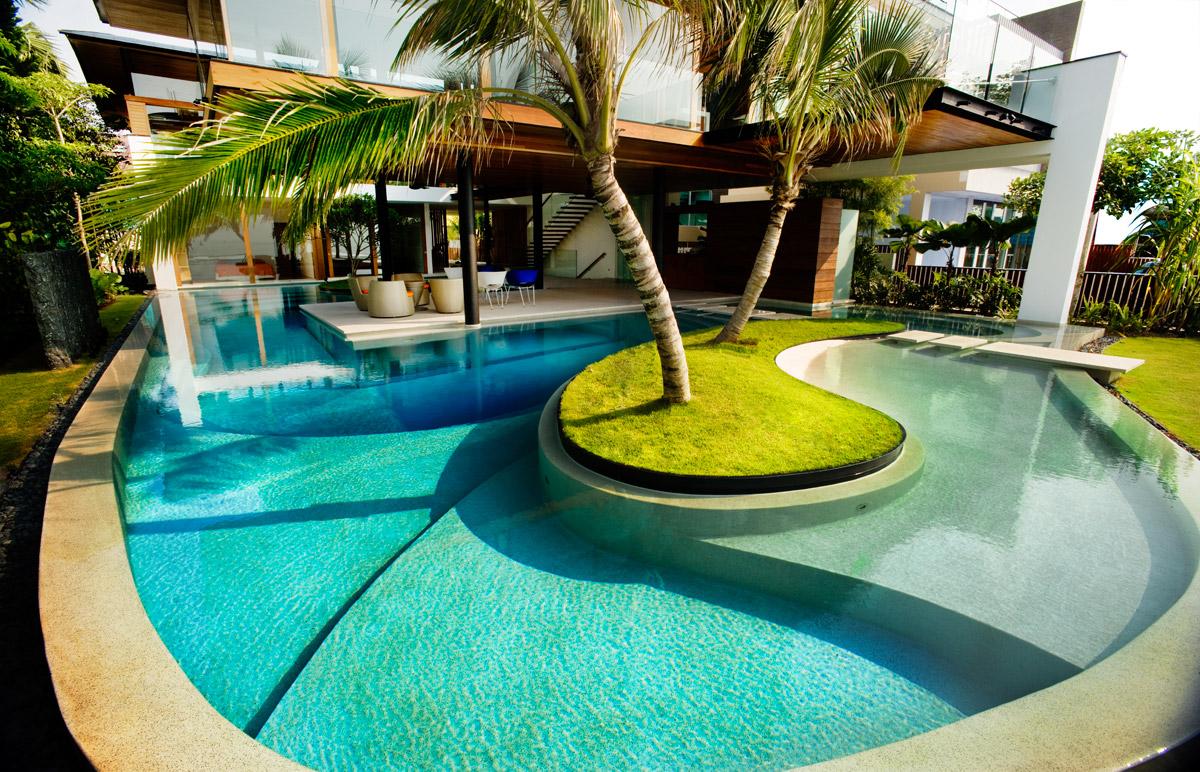 Get a unique and attractive pool design