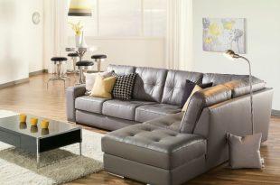 Grey leather sofa artem sofa 902511 rs grey leather sectional need lhf RMWOYQI