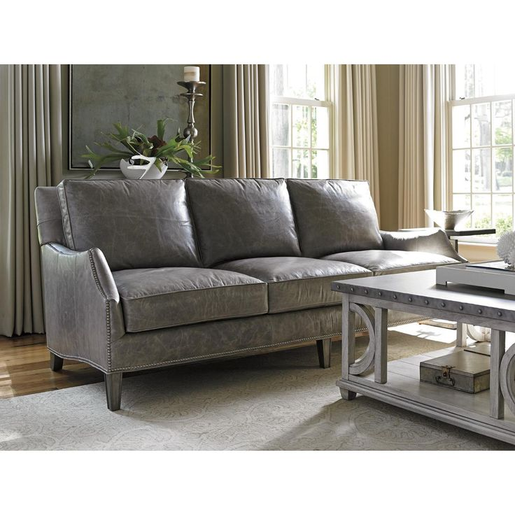 Grey leather sofa goods of the woods 10301 medium oval galvanized tub. grey leather sofagray SUPIXVZ