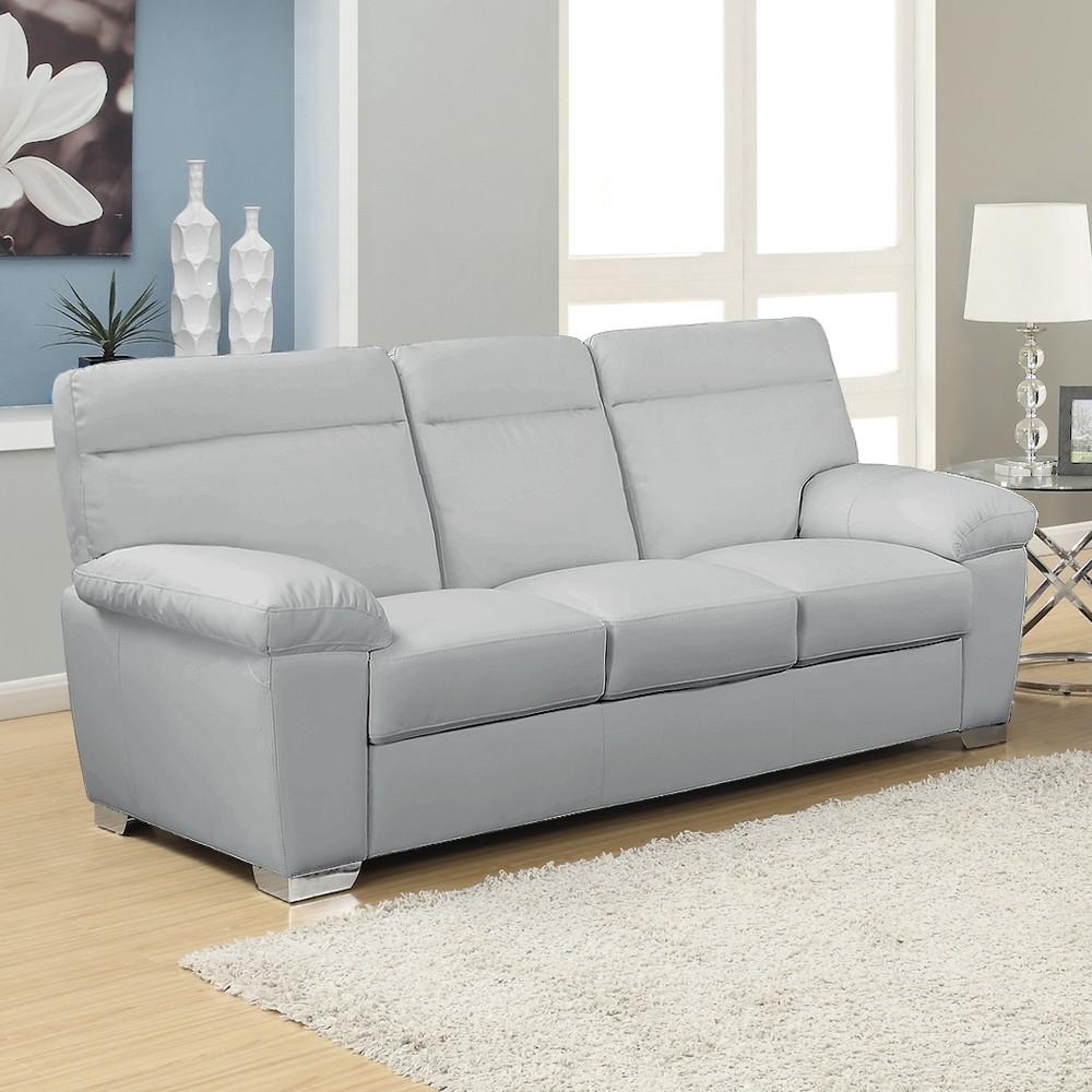 grey leather sofas 54 gray leather sofa, baretto grey nobility leather sofa buy leather sofas VSGHTTD