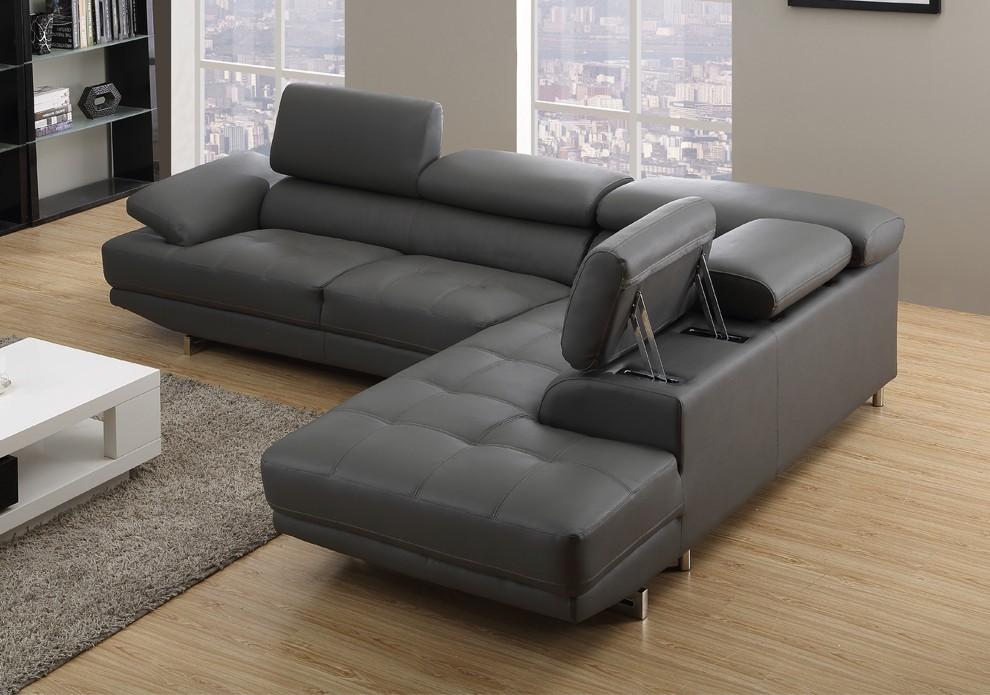 grey leather sofas ventura right/hand grey leather corner sofas LQDLEVV