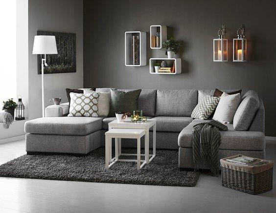 grey sofas inredning vardagsrum grå soffa - sök på google: OGAAZCN