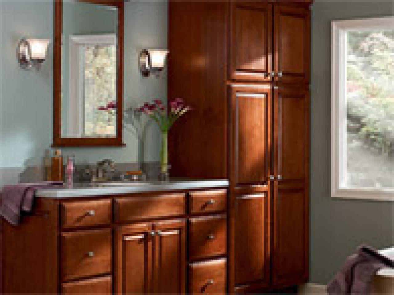 Tips for installing bathroom cabinets
