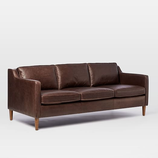 hamilton leather sofa (81 YJQNZFD