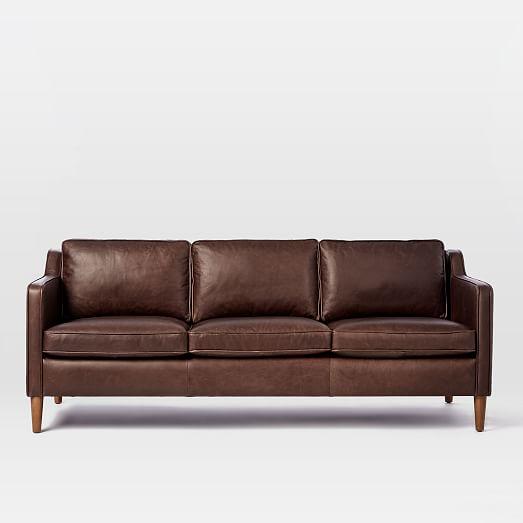 hamilton leather sofa (81 ZYJNSAP