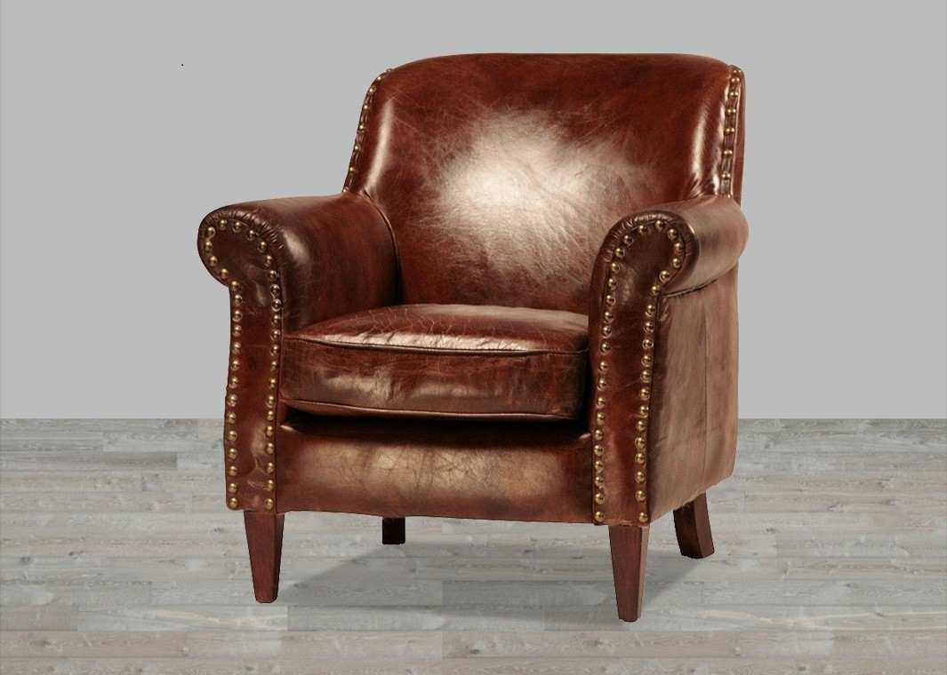 Get a stylish and comfortable leather club chair in your home