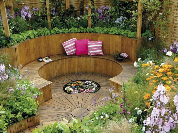 home garden design usable garden space : outdoor retreat : garden galleries XCNOLNQ