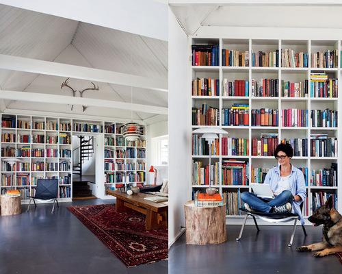 home library design ideas GZUXQSJ