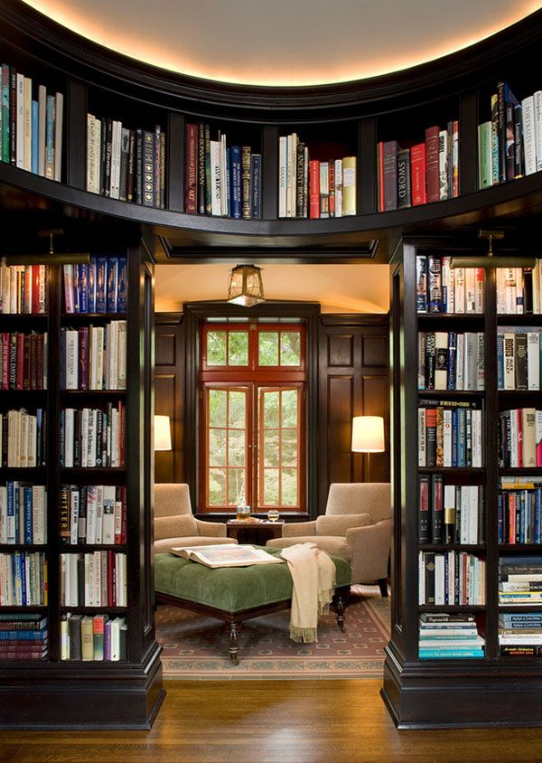 home library design these 38 home libraries will have you feeling just like belle UHDIGFU