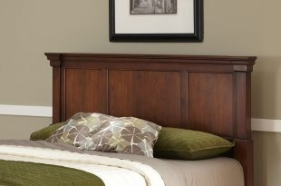 home styles the aspen collection king/california king headboard, rustic  cherry/black ZDUWVDC