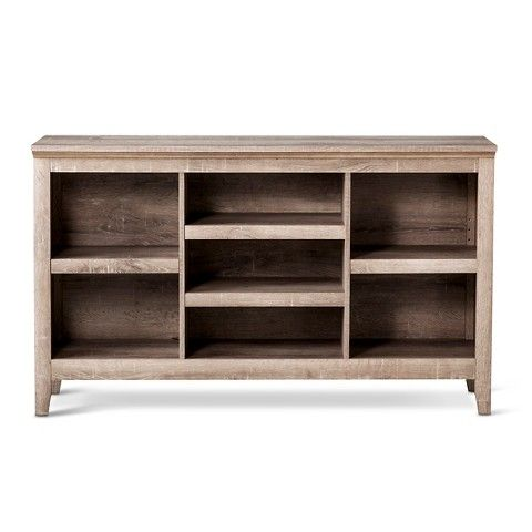 horizontal bookcase carson horizontal - rustic - threshold™ OMLXQHB