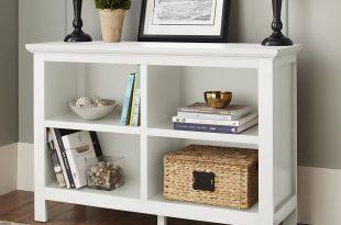 horizontal bookcase mainstays home 8-shelf bookcase, multiple finishes - walmart.com QXDYOPK