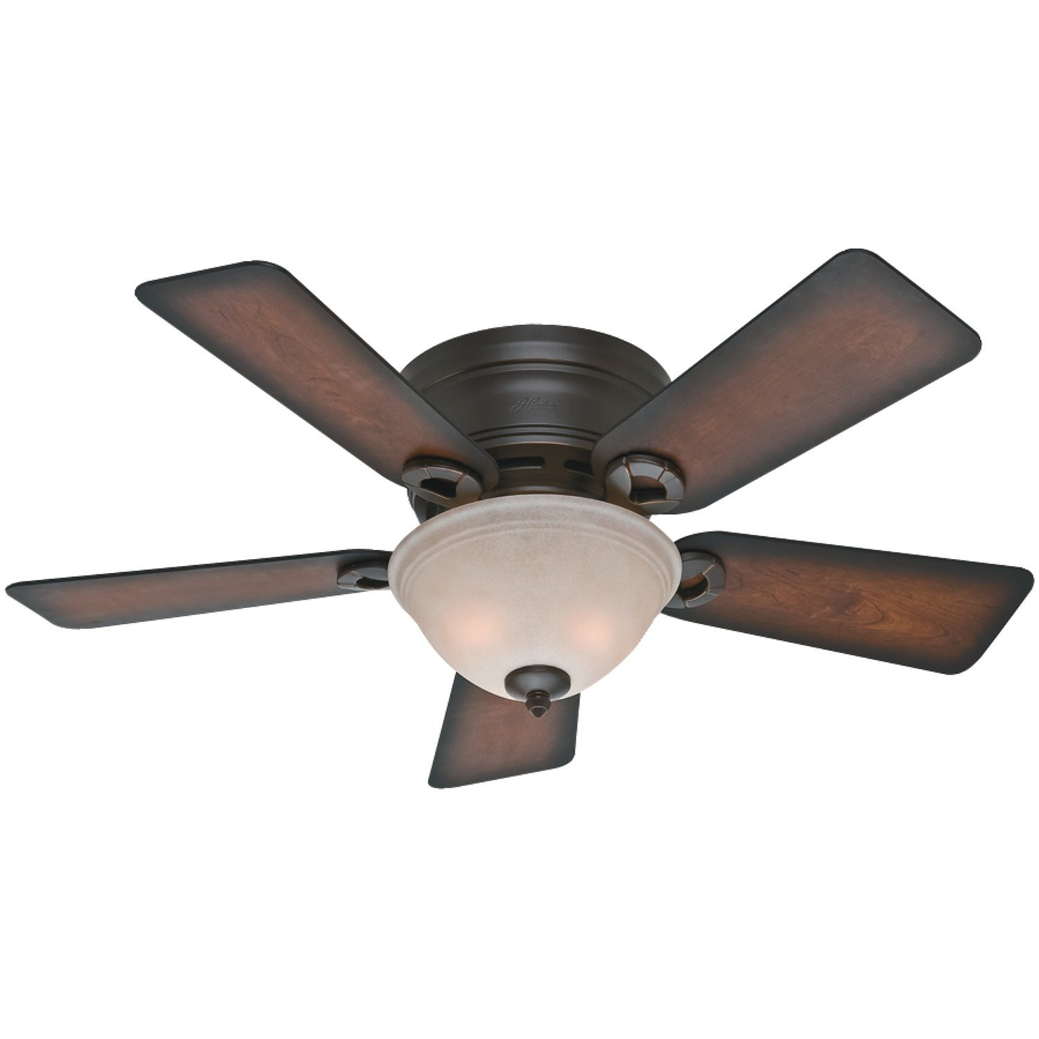 hunter fan company 51023 conroy 42-inch onyx bengal ceiling fan with five TIQZKPY