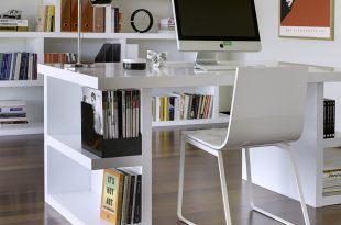 image of: home office desks white HNELPQP