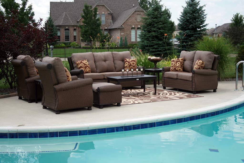 image of: modern outdoor patio furniture sets BOZGEZU