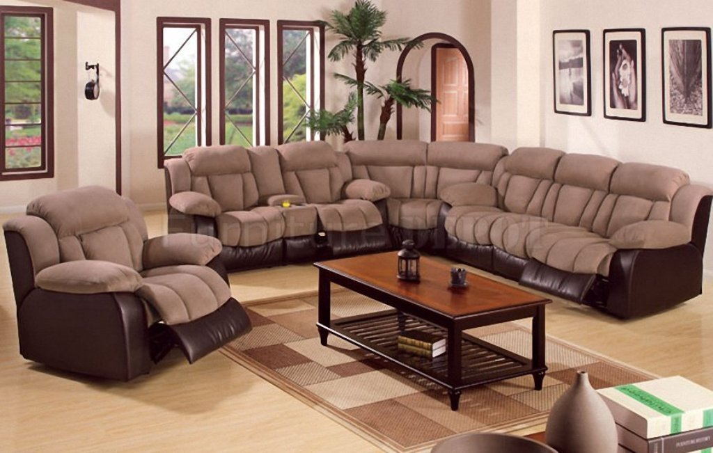image of: sectional sofas with recliners rice lake wi YWQJQKK