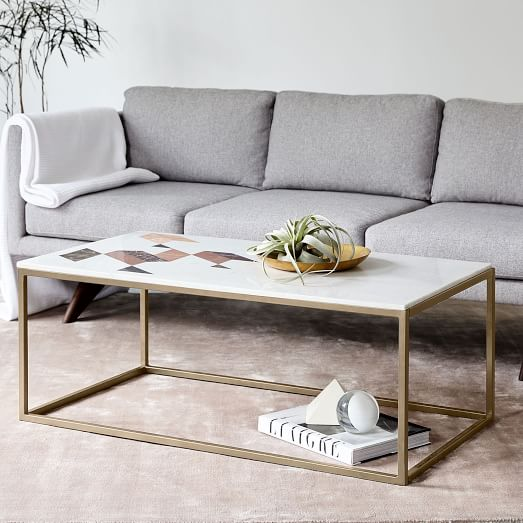 indian marble coffee table RKZCCKD
