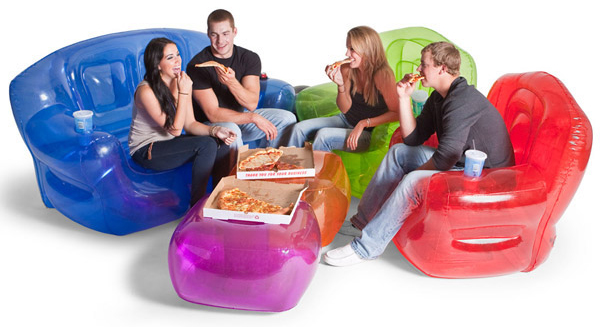 Enjoy inflatable furniture and use its flexibility