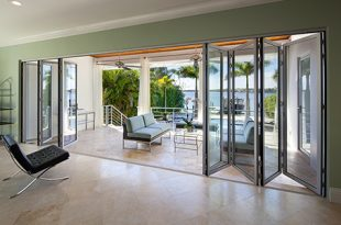 inside view of folding patio doors DBYSIAB