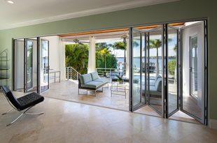 inside view of folding patio doors DBYSIAB