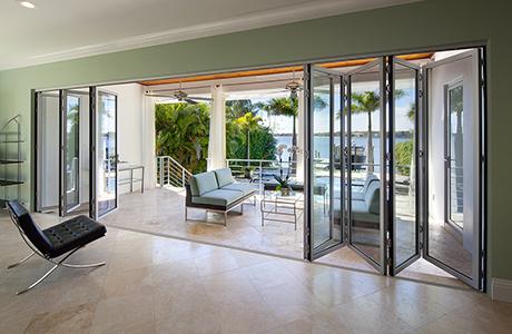 Modern patio doors