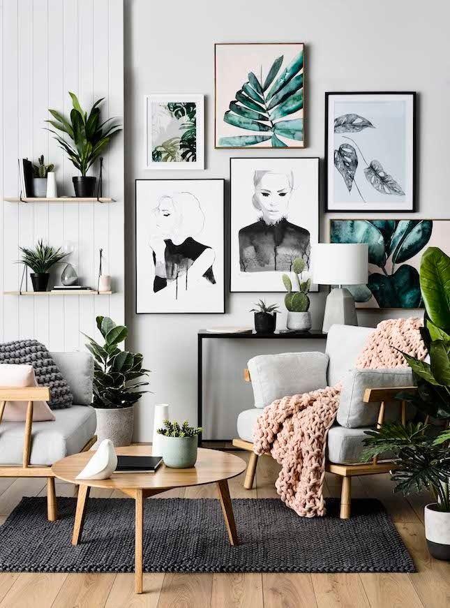 interior ideas these lush jungalows are nailing the indoor plant trend. interior designing interior decoratinginterior AKRXOLF
