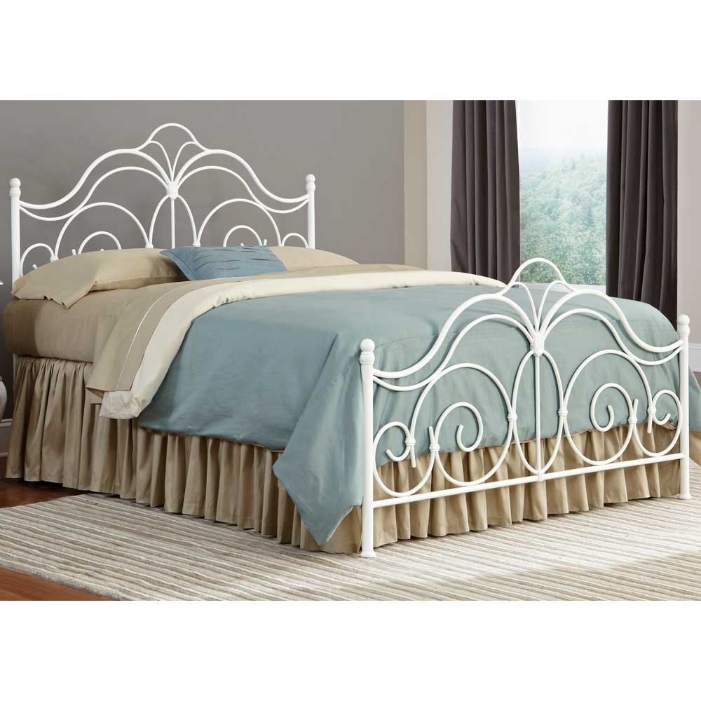 iron beds rhapsody iron bed in glossy white RQZMCRS