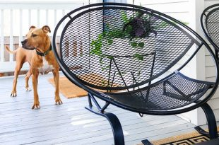 iron furniture how to save wrought iron patio furniture with this simple trick! | via WSZBTDC