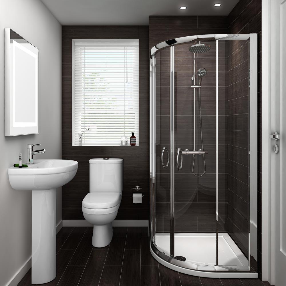 ivo en suite bathroom suite set - 2 sizes available medium image HGDRIOA