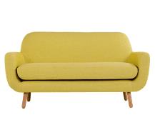 jonah 2 seater sofa, saffron yellow DYRPBBD