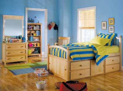 kids bedroom a captainu0027s bed, named for designs used aboard ships, is a great solution HQRERVP