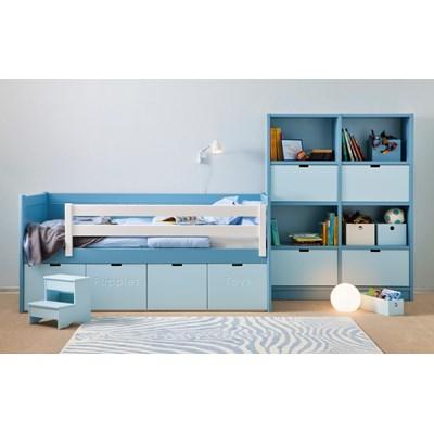 kids beds with storage kids bahia storage bed step stool boys girls beds cuckooland MJLVOVC