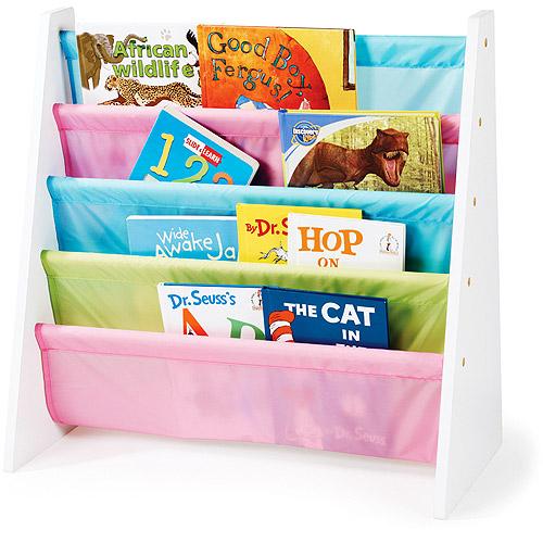 kids bookcase tot tutors pastel book rack FNMLFIR