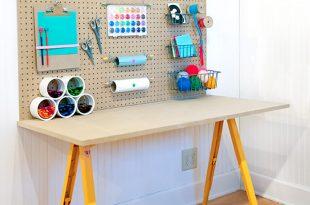 kids desk diy crafting desk for your kids (via handmadecharlotte) XDMHVKR