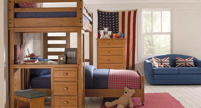 kids loft beds bunk bedrooms LYFRPHG