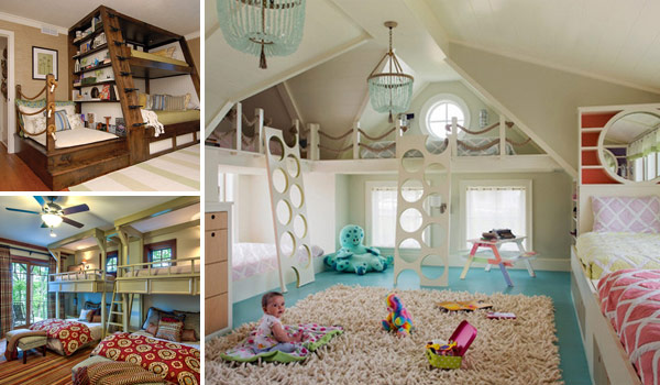 kids room ideas 21 most amazing design ideas for four kids room GWINREB