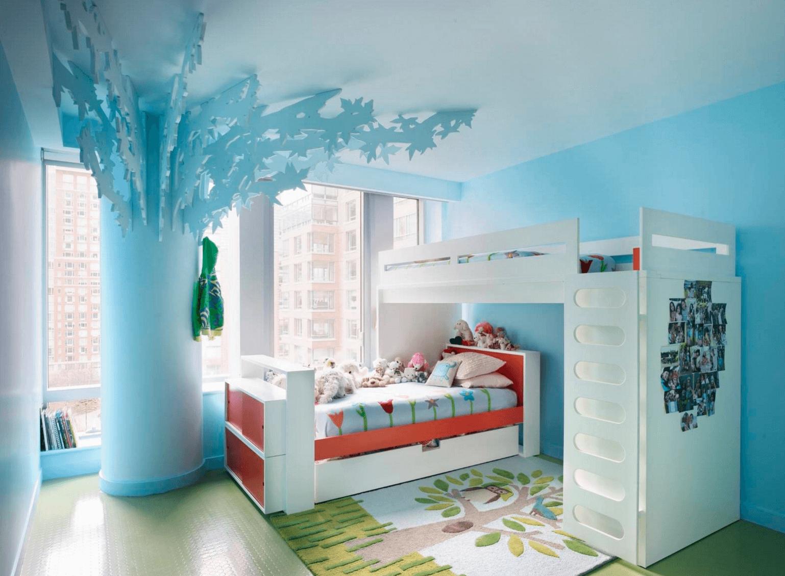 kids room ideas bohemian park bedroom FZQHWPX